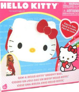 Hello Kitty Make & Sew a Groovy Bag
